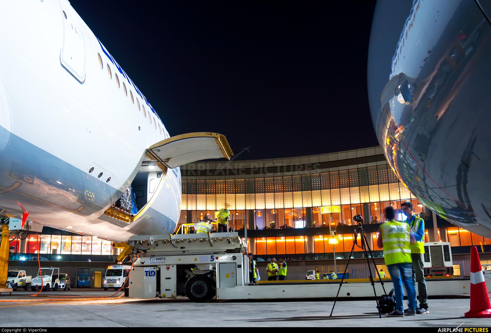 Lufthansa D-AIXC aircraft at Mumbai - Chhatrapati Shivaji Intl