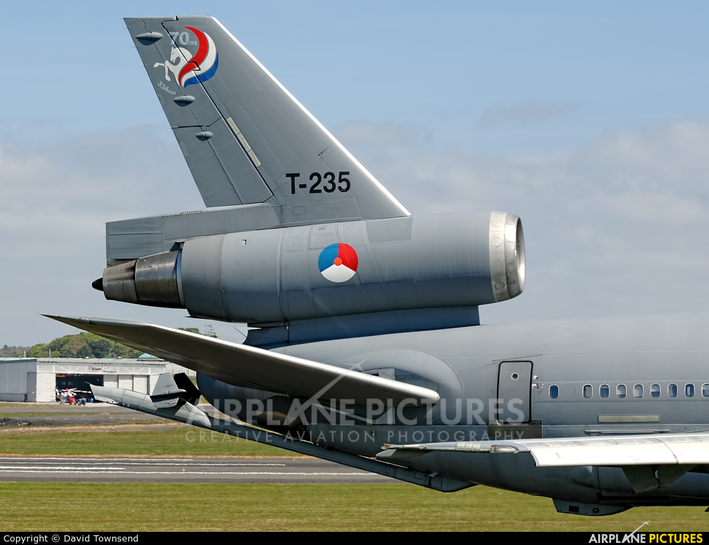 Netherlands - Air Force T-235 aircraft at Prestwick