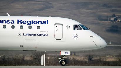 D-AEME - Lufthansa Regional - CityLine Embraer ERJ-195 (190-200)