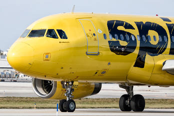 N502NK - Spirit Airlines Airbus A319