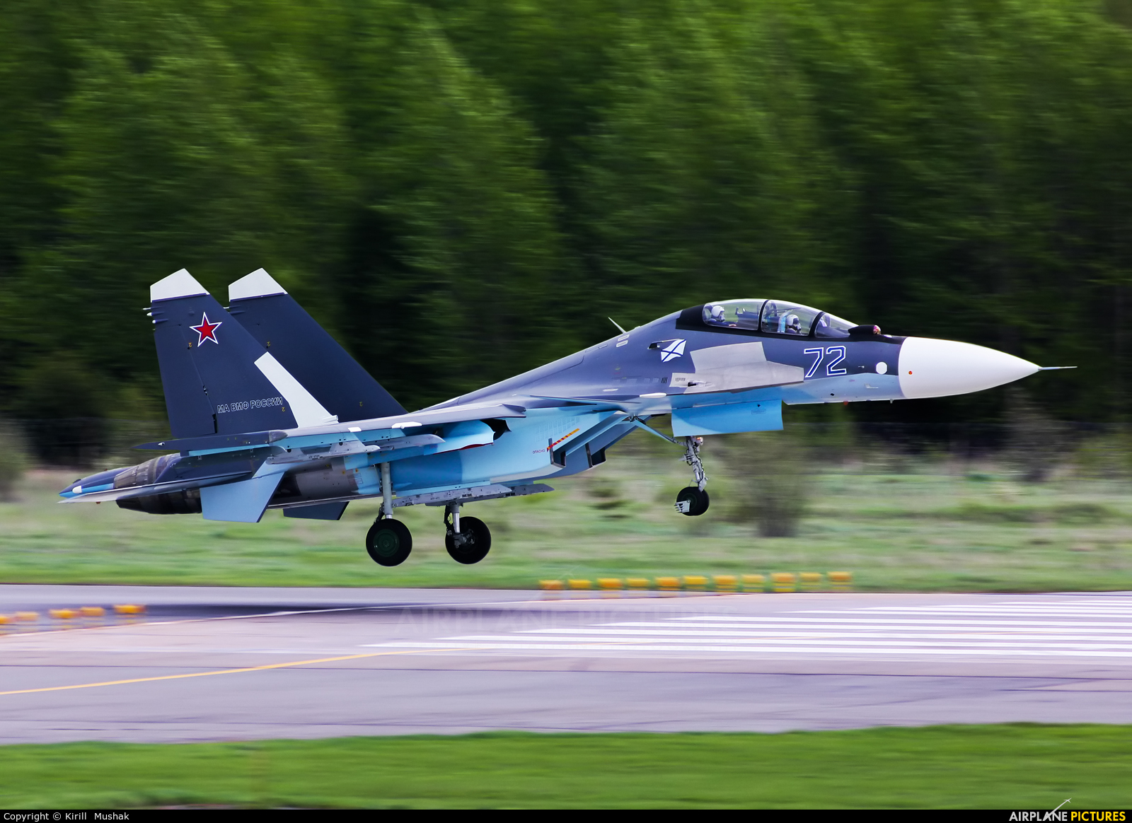 Russia - Navy 72 BLUE aircraft at Undisclosed Location