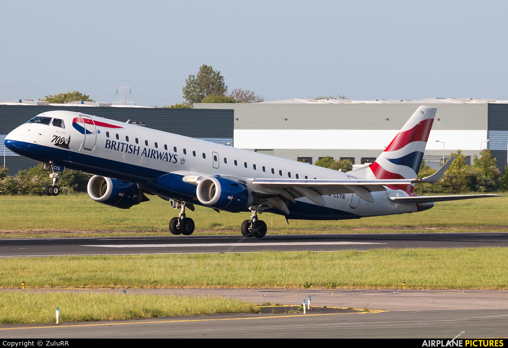 British Airways - City Flyer G-LCYN aircraft at Dublin