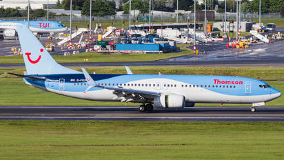 G-FDZR - Thomson/Thomsonfly Boeing 737-800