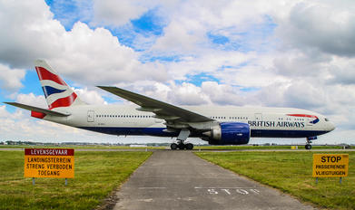 G-VIIJ - British Airways Boeing 777-200