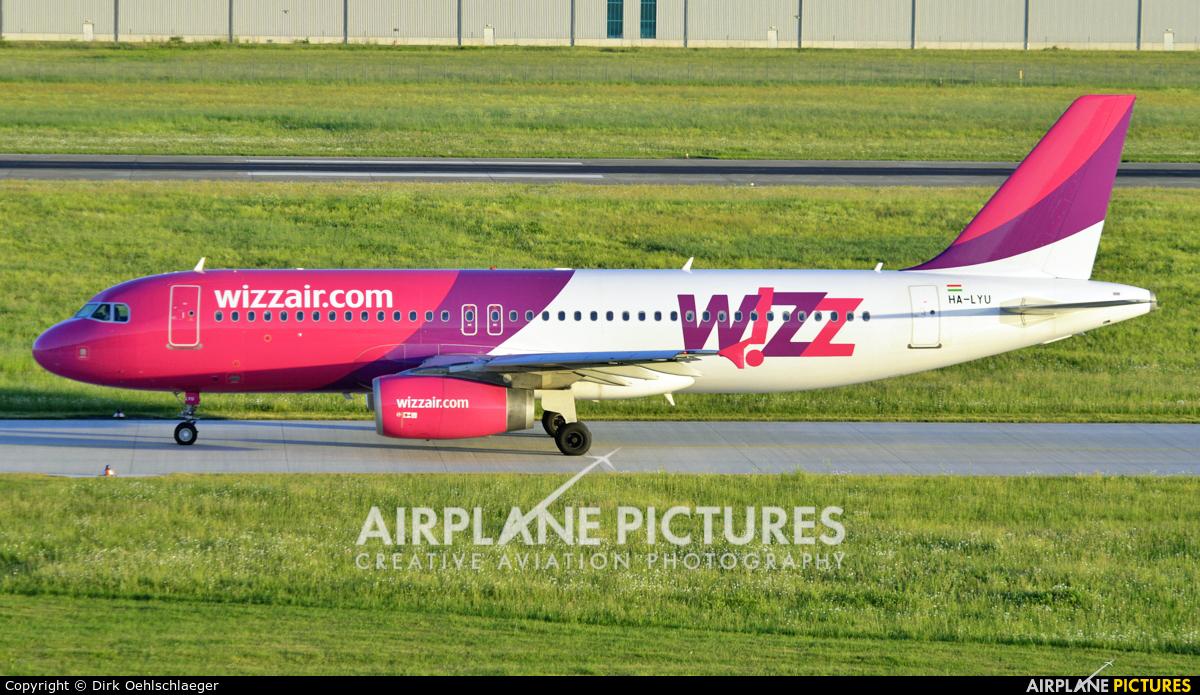 Wizz Air HA-LYU aircraft at Hannover - Langenhagen