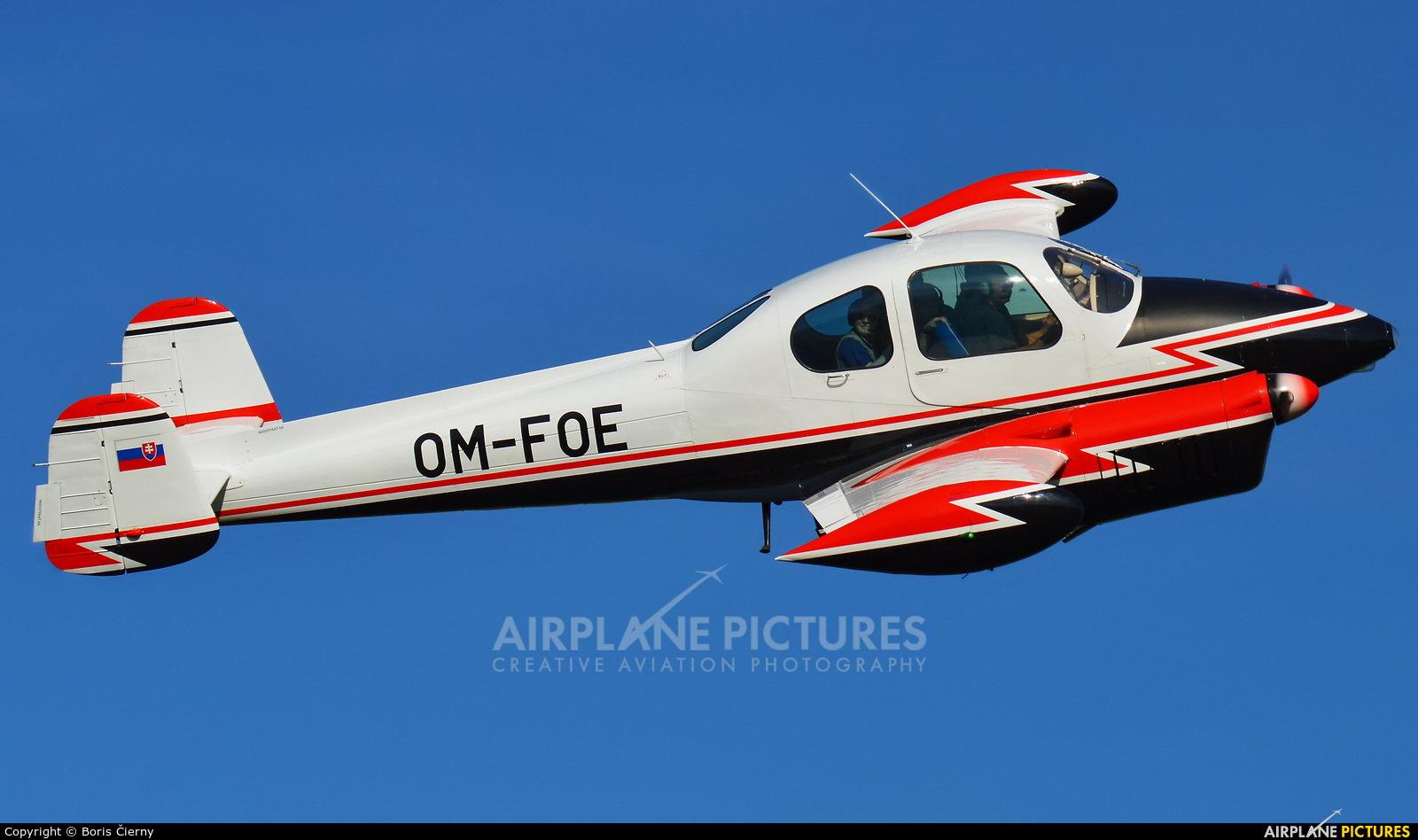 Private OM-FOE aircraft at Martin-Tomčany