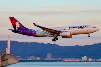 N388HA - Hawaiian Airlines Airbus A330-200