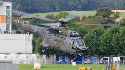 T-313 - Switzerland - Air Force Aerospatiale AS332 Super Puma