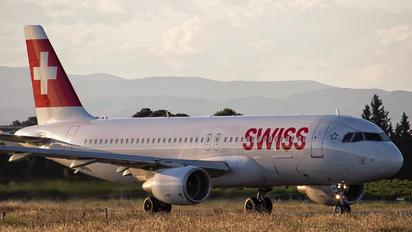 HB-IJK - Swiss Airbus A320