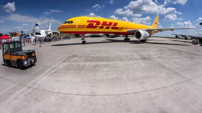 G-DHCK - DHL Cargo Boeing 757-200F