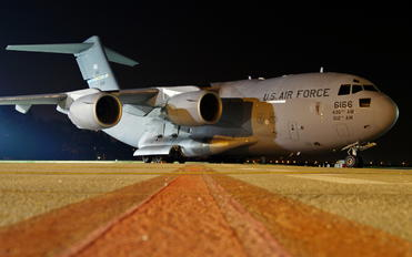 6166 - USA - Air Force Boeing C-17A Globemaster III