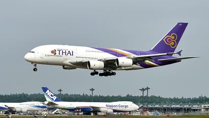 HS-TUD - Thai Airways Airbus A380