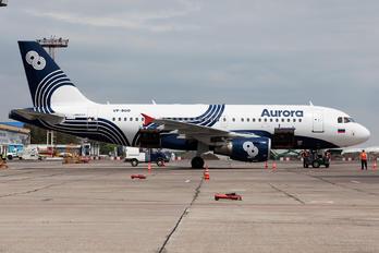 VP-BUO - Aurora Airbus A319