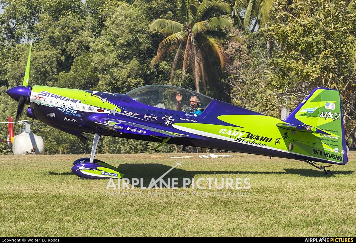 Private N716GW aircraft at Iztapa