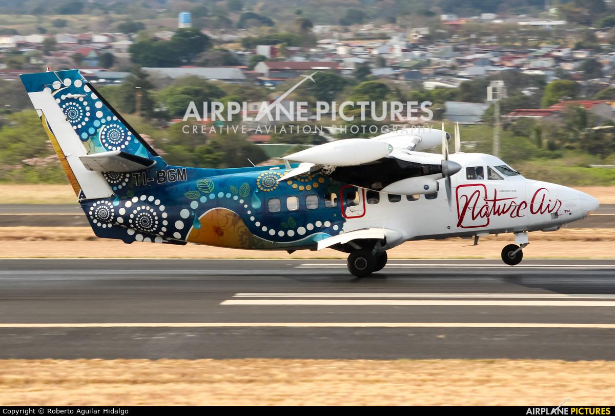 Nature Air TI-BGM aircraft at San Jose - Juan Santamaría Intl