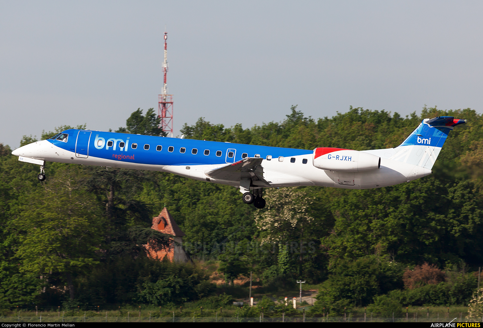 BMI Regional G-RJXH aircraft at Toulouse - Blagnac