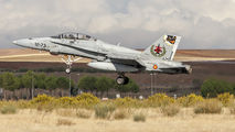 CE.15-10 - Spain - Air Force McDonnell Douglas EF-18B Hornet aircraft