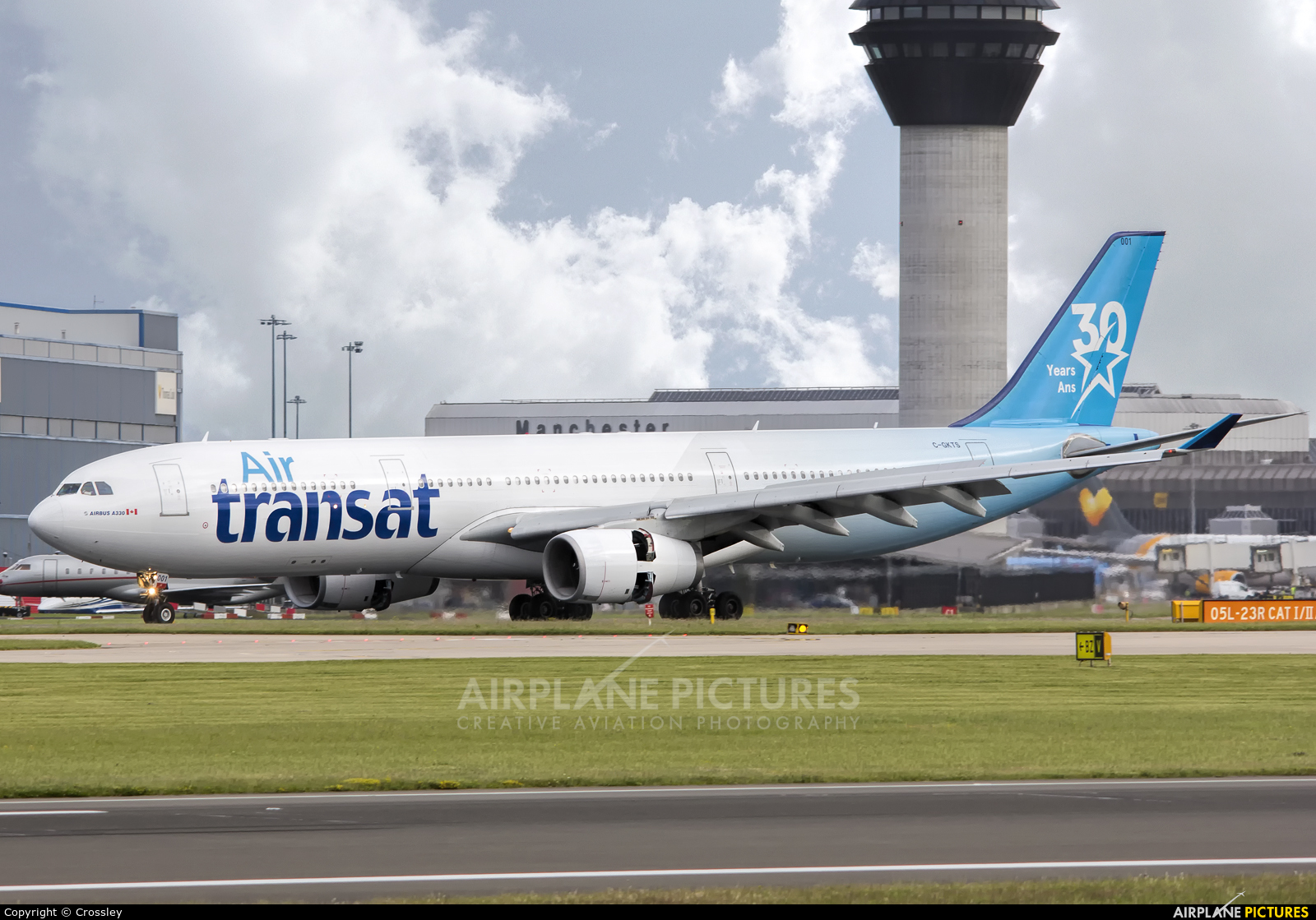 c gkts air transat airbus a330 300 at manchester photo id 915337 airplane pictures net