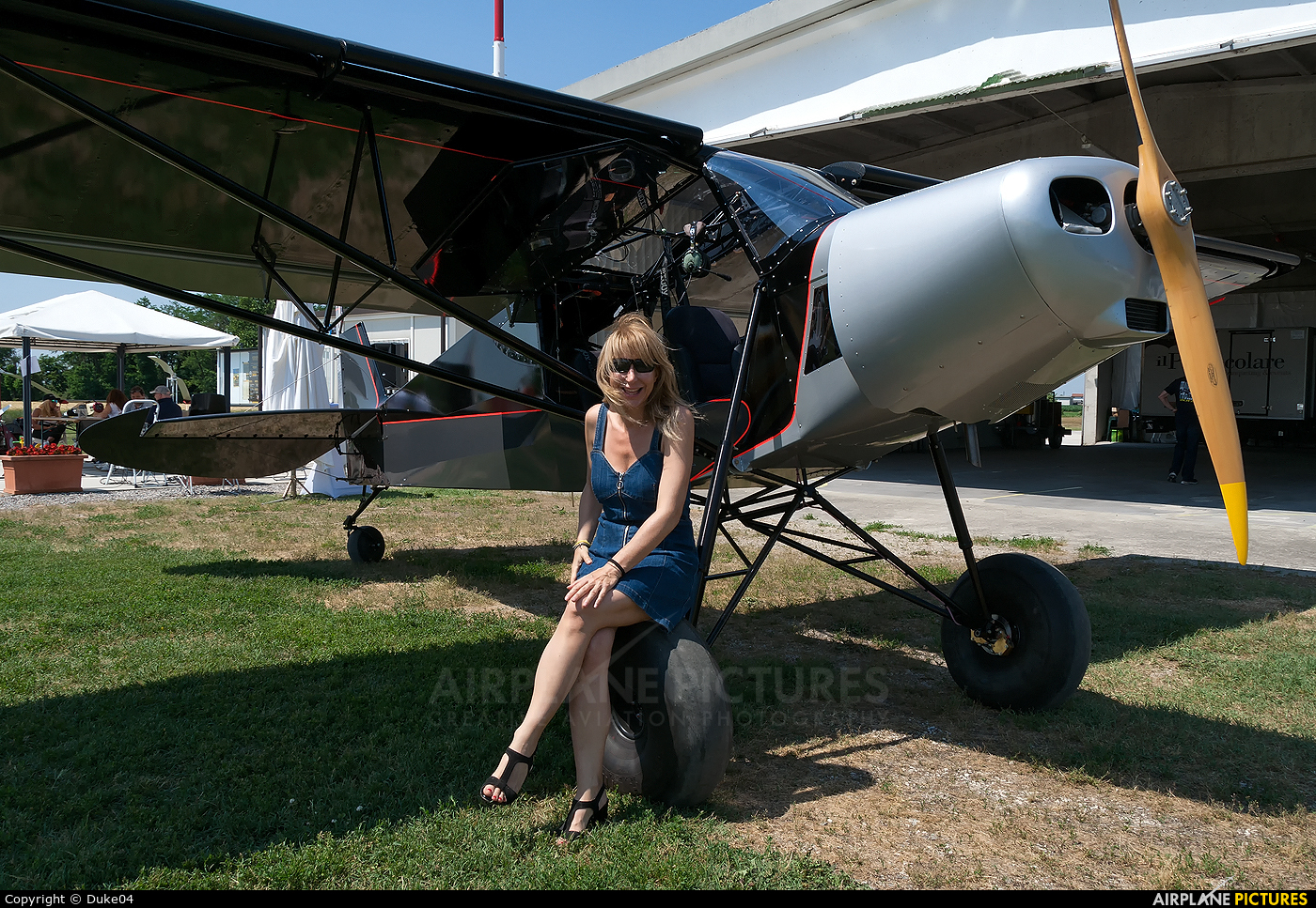 - Aviation Glamour I-C579 aircraft at Off Airport - Italy