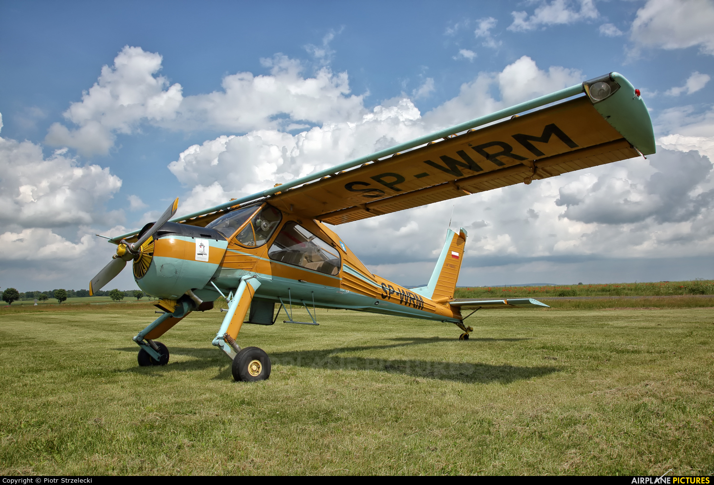 Private SP-WRM aircraft at Świebodzice