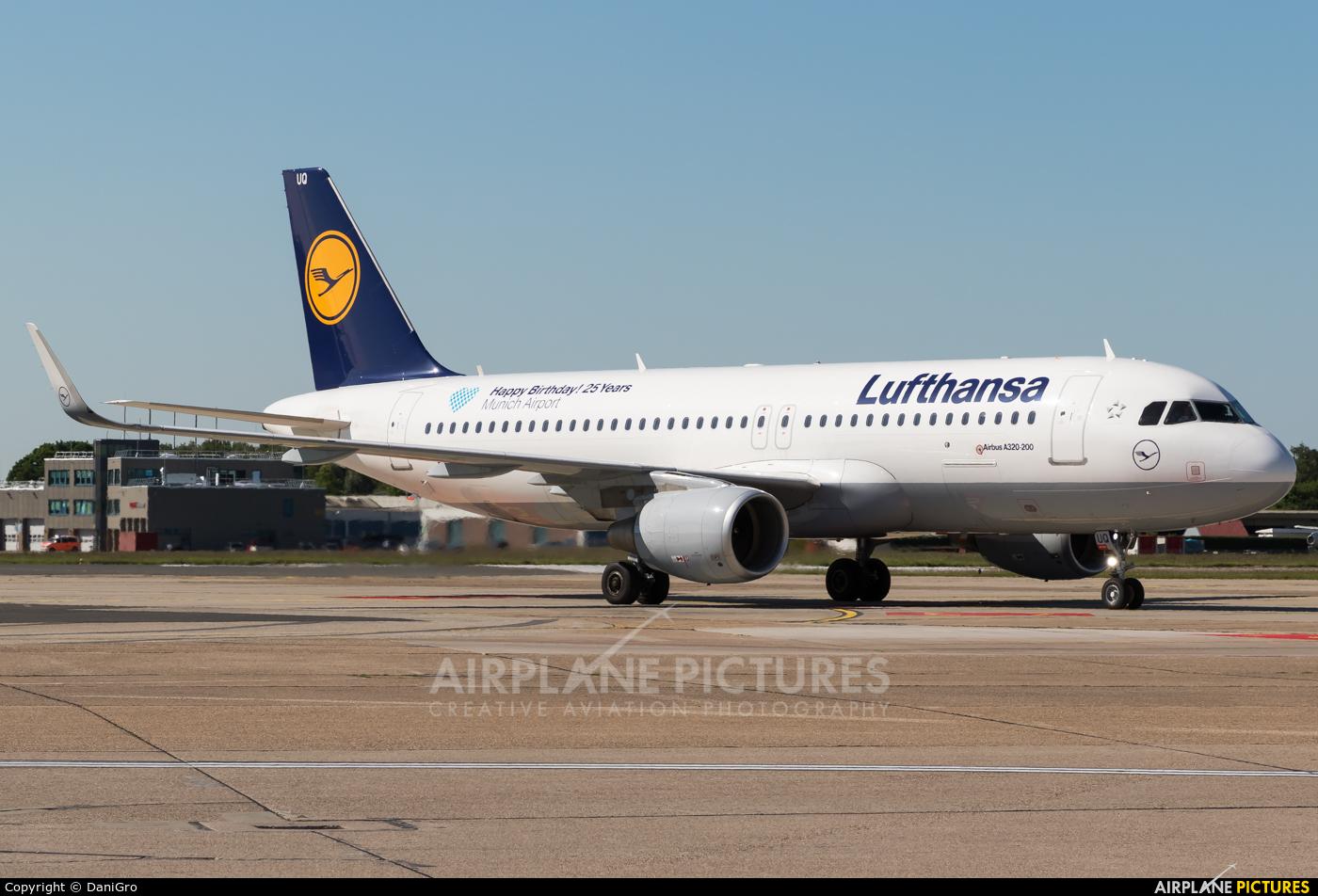 Lufthansa D-AIUQ aircraft at Hamburg - Fuhlsbüttel