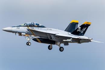 168493/VFA-103 - USA - Navy McDonnell Douglas F/A-18F Super Hornet