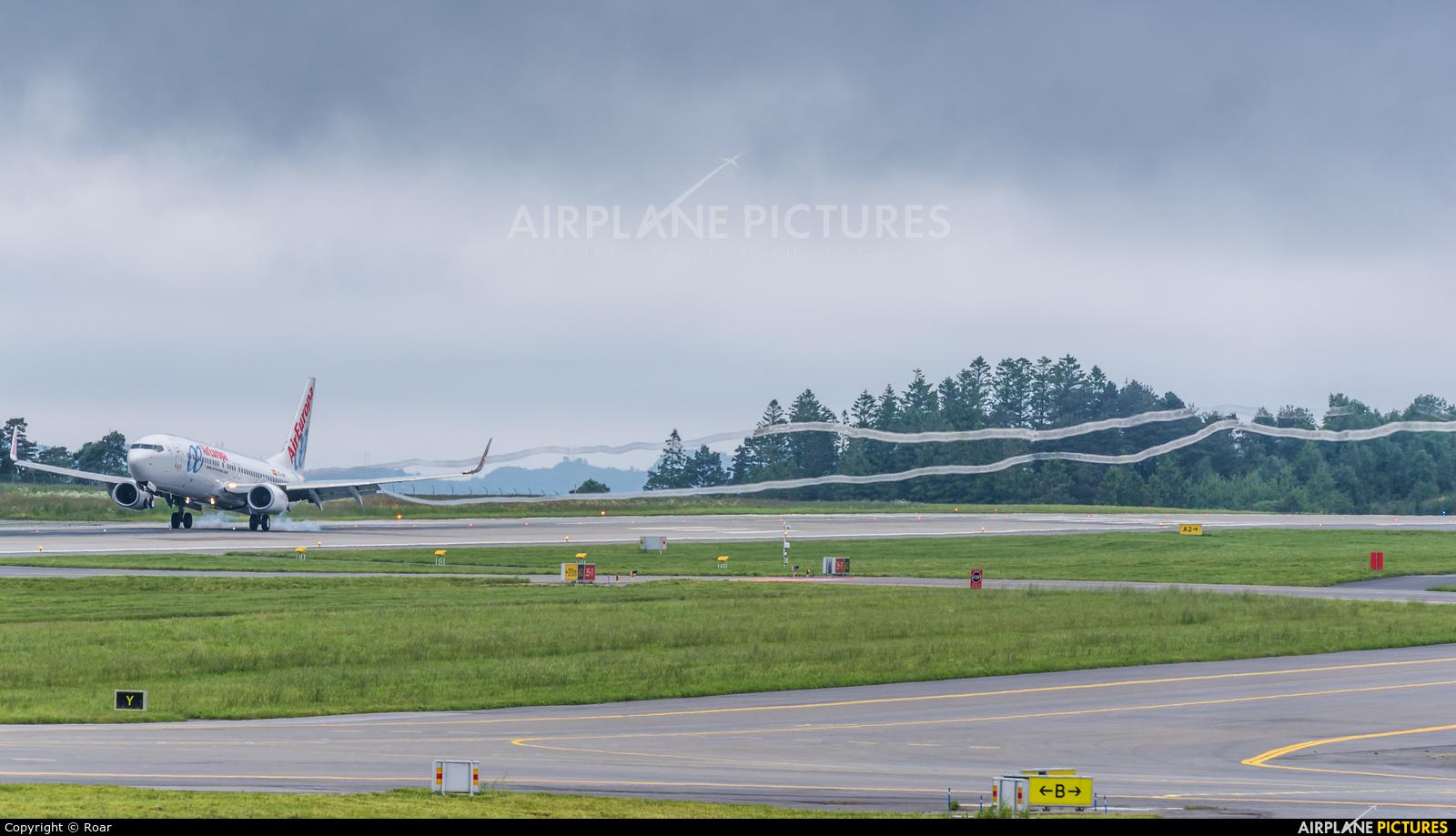 Air Europa - aircraft at Bergen - Flesland