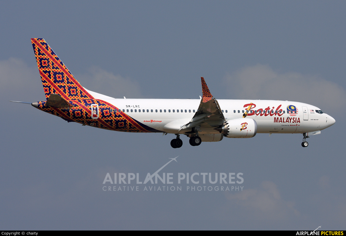 Batik Air Malaysia 9M-LRC aircraft at Kuala Lumpur Intl