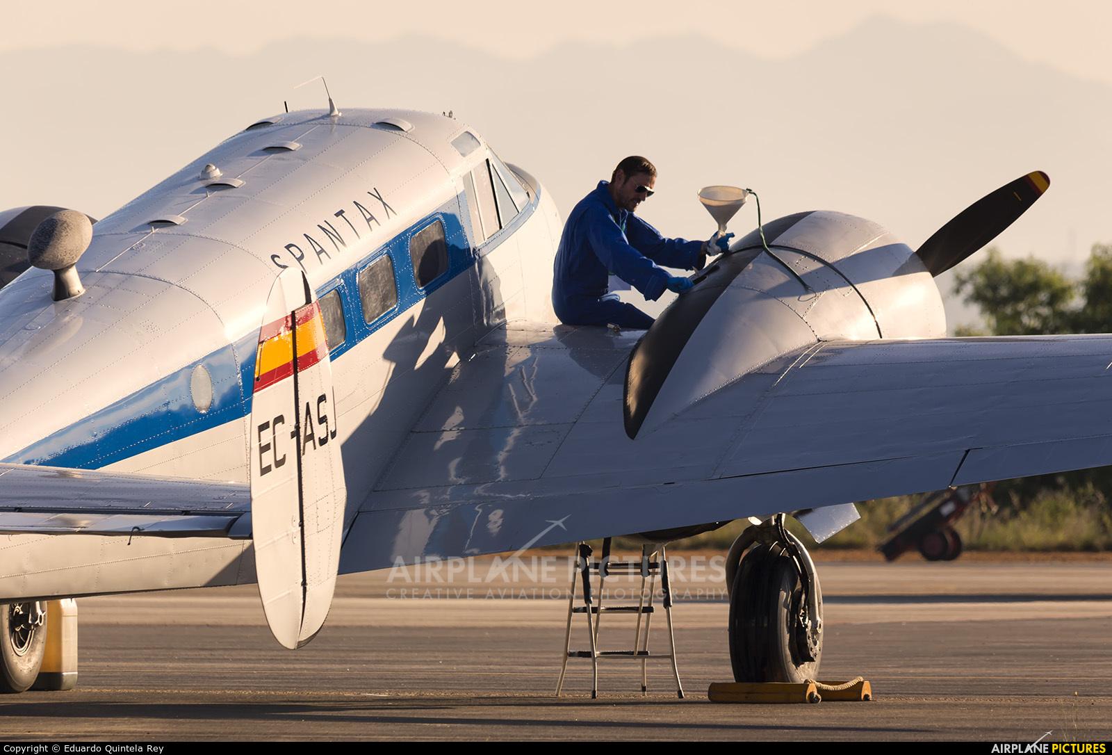 Fundación Infante de Orleans - FIO EC-ASJ aircraft at León