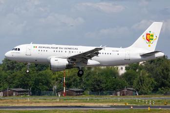 6V-ONE - Senegal - Government Airbus A319 CJ