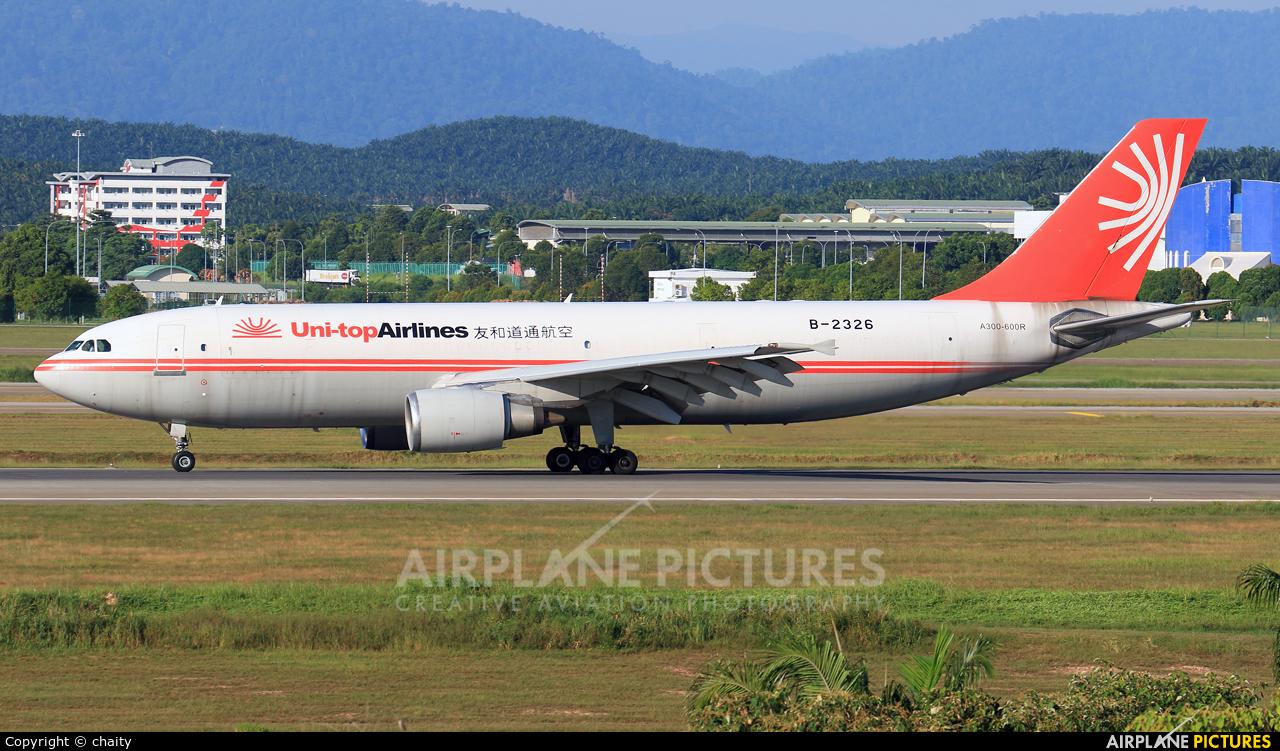 Uni-top Airlines B-2326 aircraft at Kuala Lumpur Intl