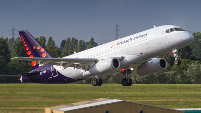 EI-FWF - Brussels Airlines Sukhoi Superjet 100