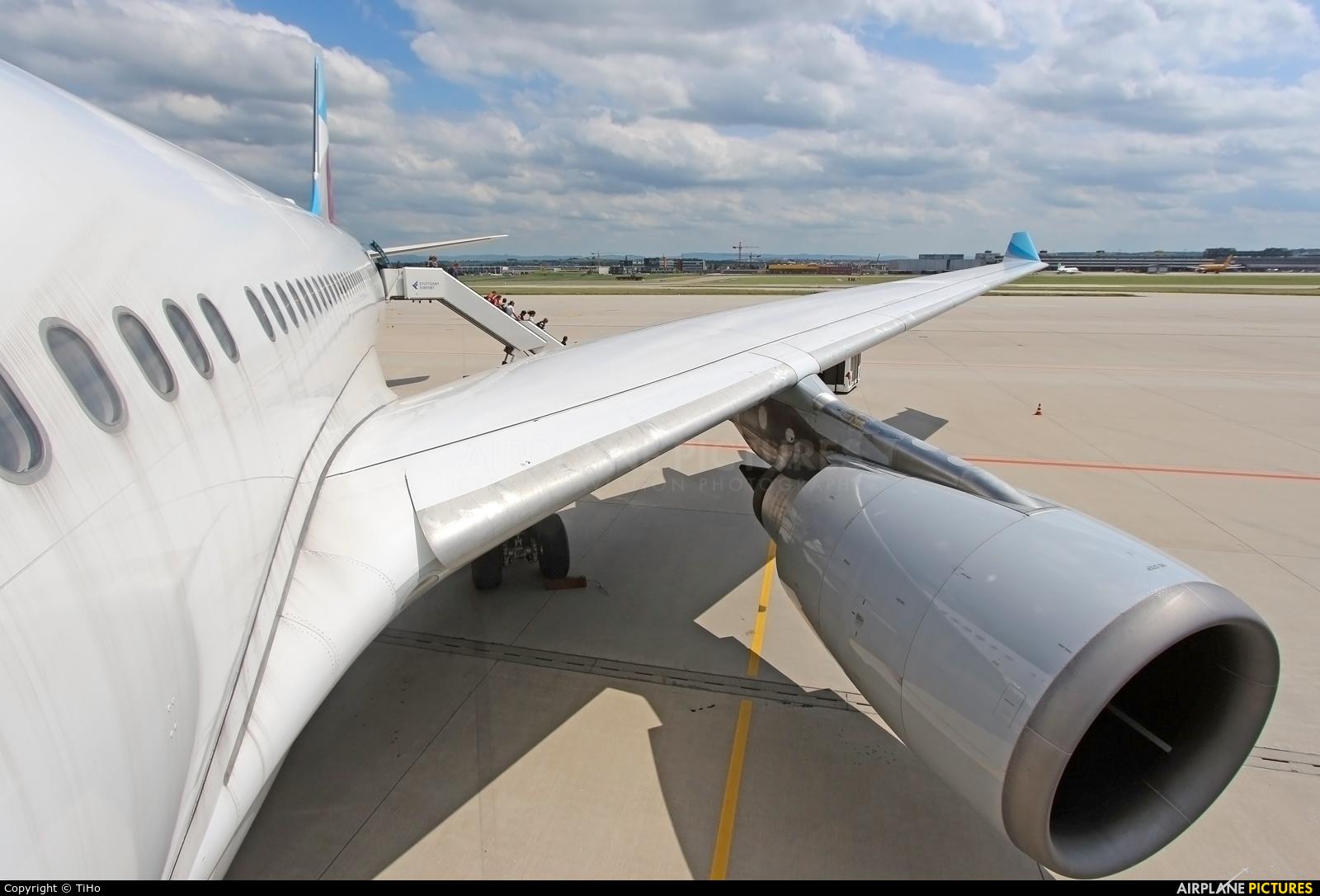 Eurowings D-AXGD aircraft at Stuttgart