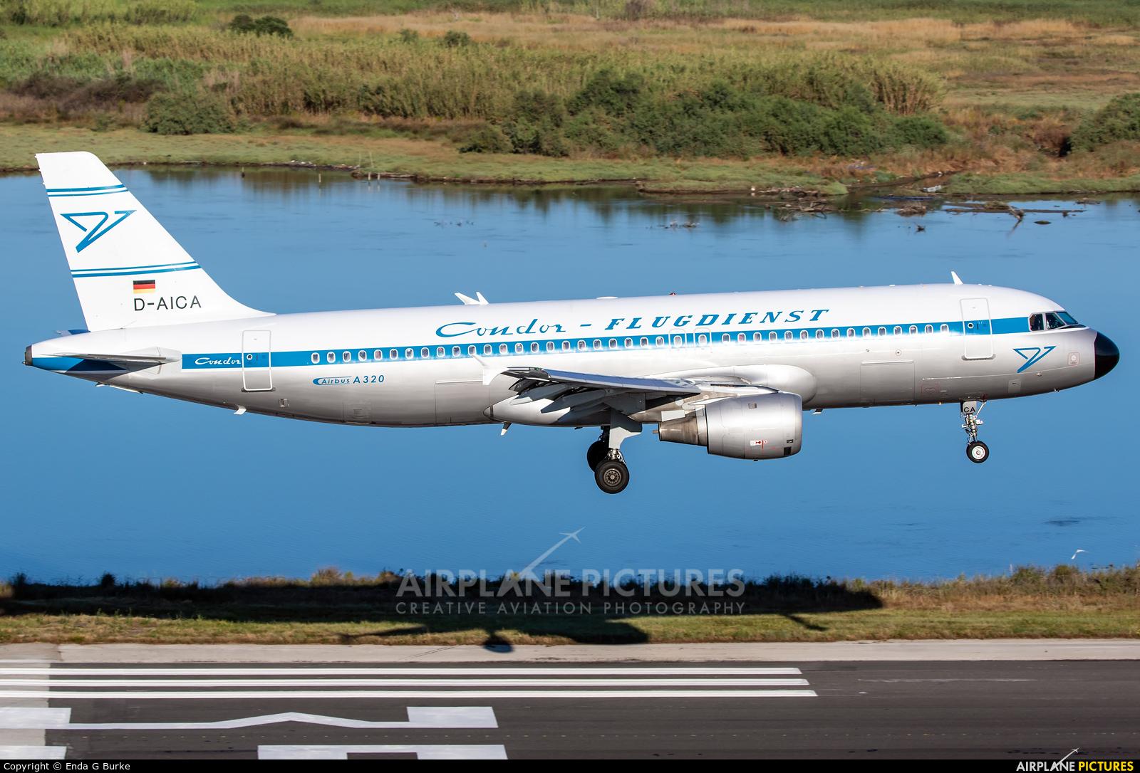 Condor D-AICA aircraft at Corfu - Ioannis Kapodistrias
