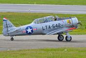 LN-PFX - Private North American Harvard/Texan (AT-6, 16, SNJ series) aircraft