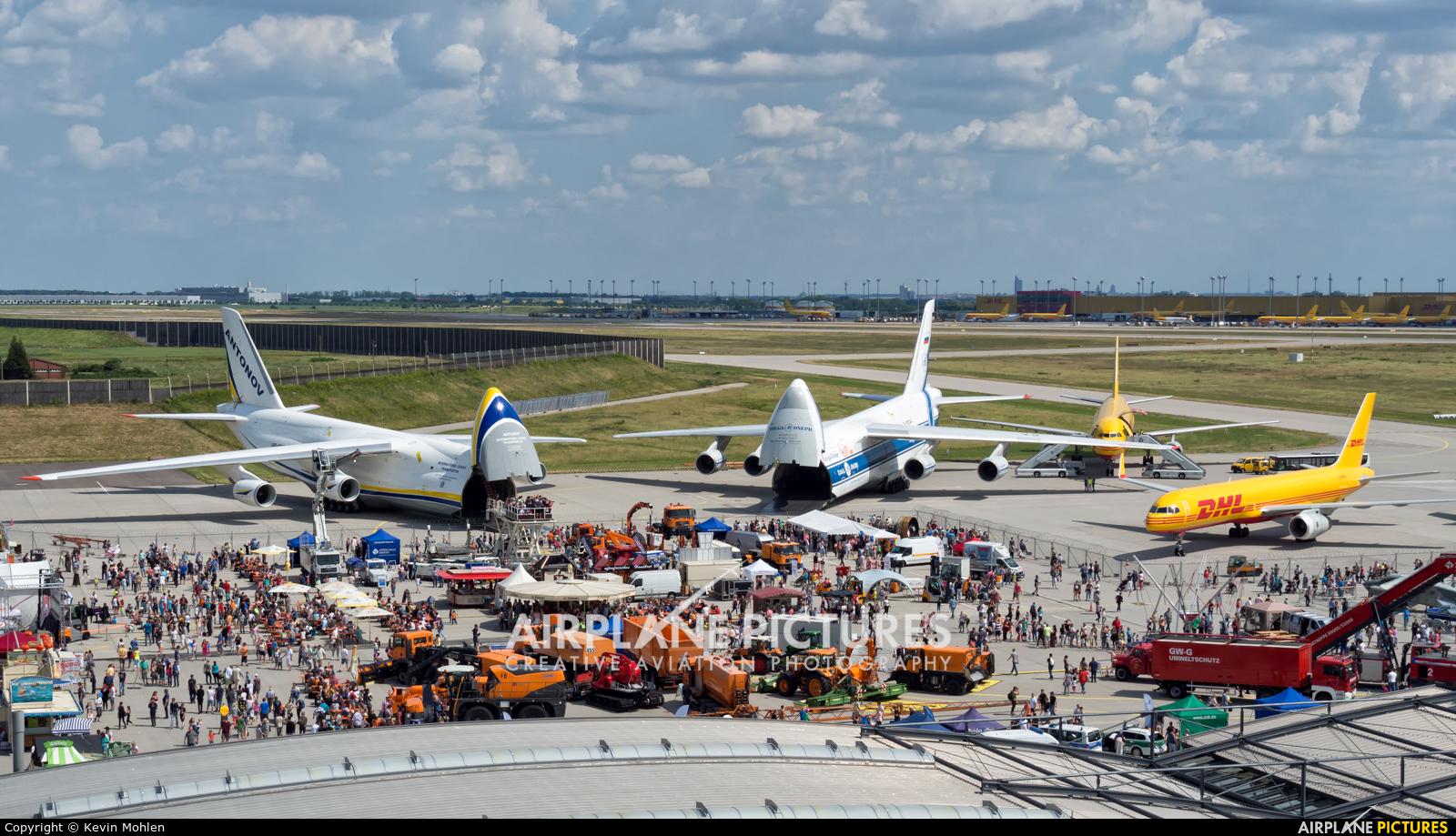 Antonov Airlines /  Design Bureau UR82073 aircraft at Leipzig - Halle