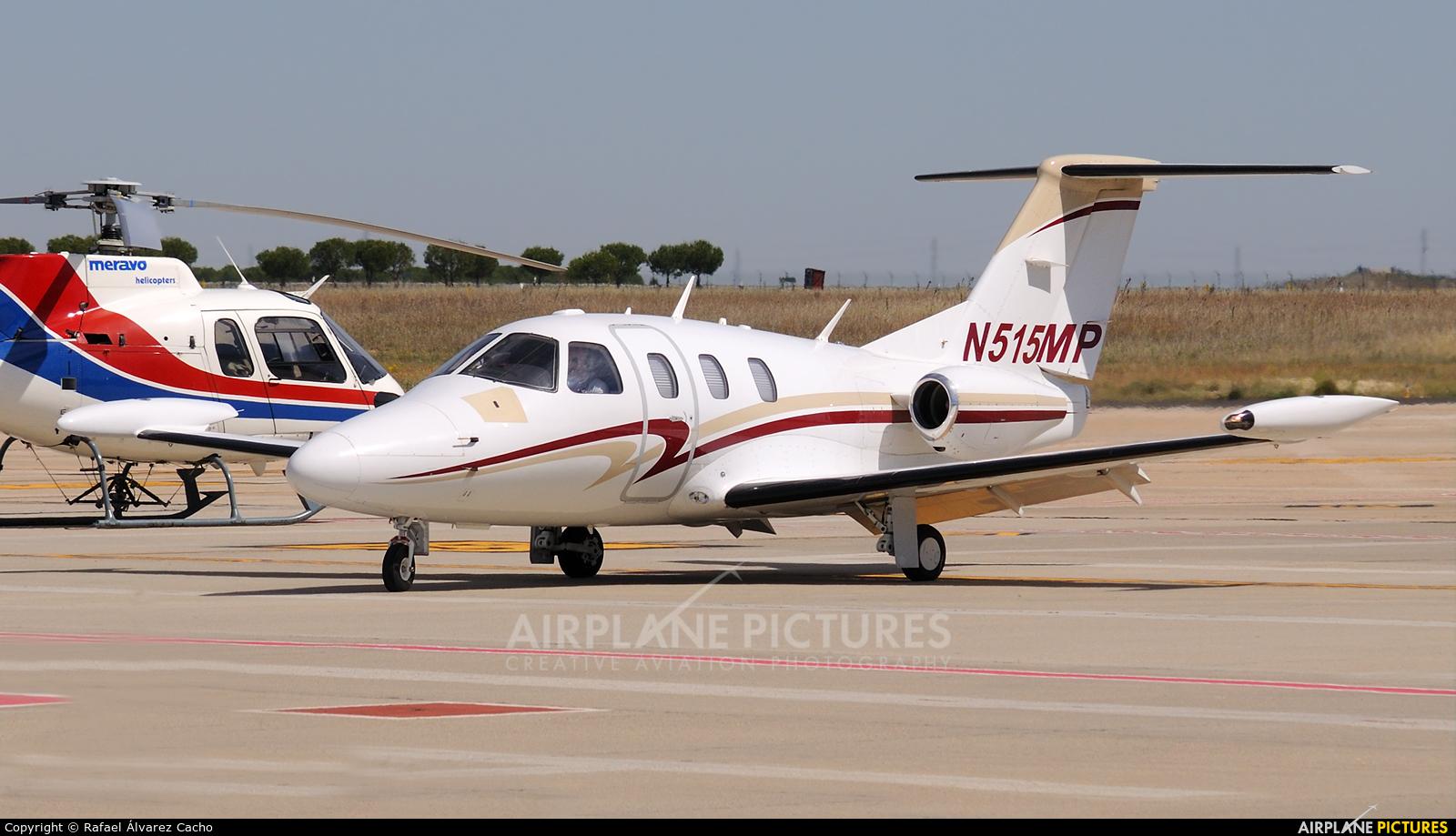 Private N515MP aircraft at Valladolid - Villanubla
