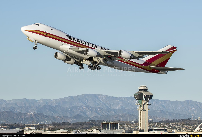 Kalitta Air N782CK aircraft at Los Angeles Intl