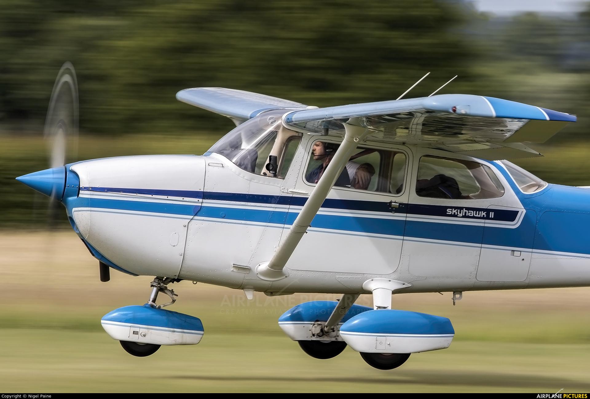 Private G-BKII aircraft at Lashenden / Headcorn