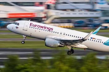D-AEWS - Eurowings Airbus A320