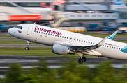 D-AEWS - Eurowings Airbus A320 aircraft