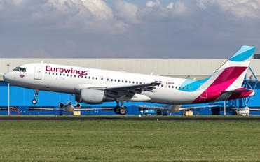 D-ABDP - Eurowings Airbus A320