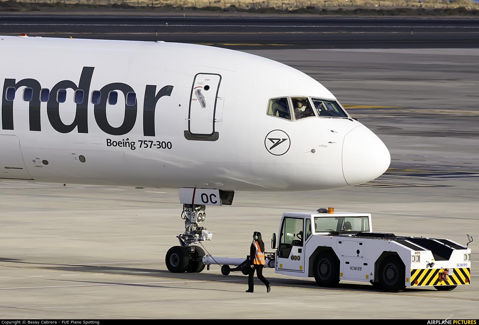 Condor D-ABOC aircraft at Fuerteventura - Puerto del Rosario