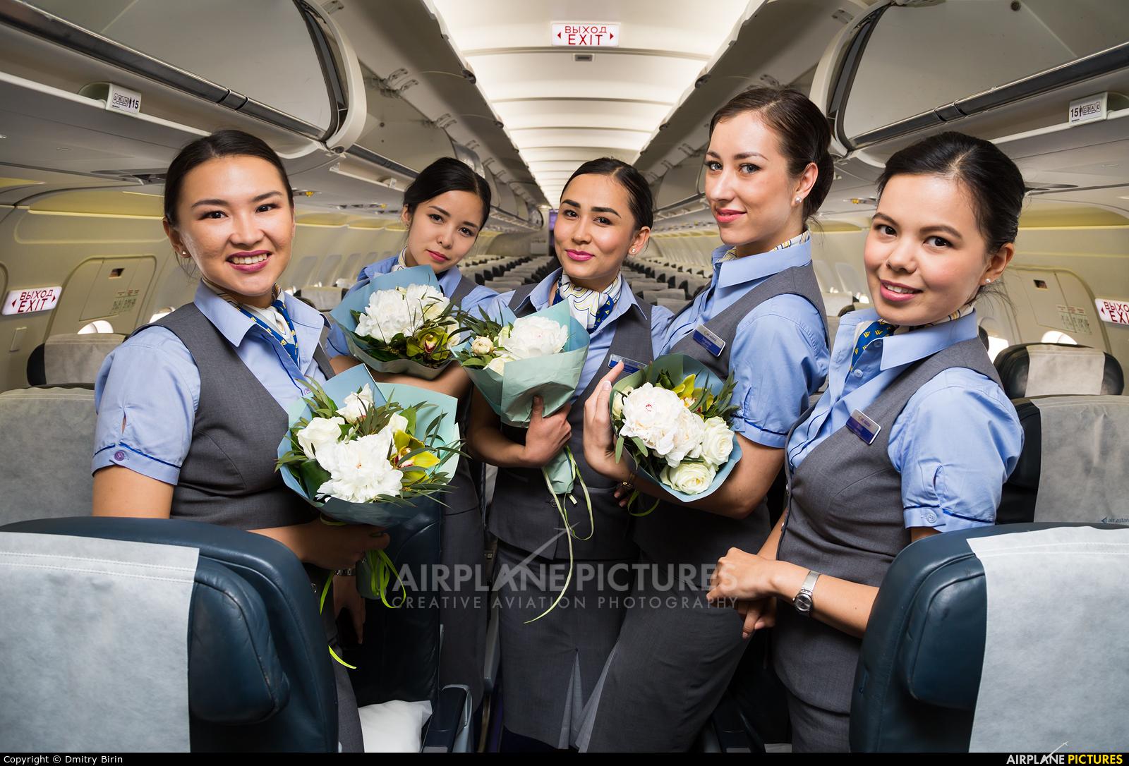 Air Astana  aircraft at Kiev - Borispol