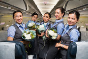 - Air Astana - Aviation Glamour - Flight Attendant aircraft