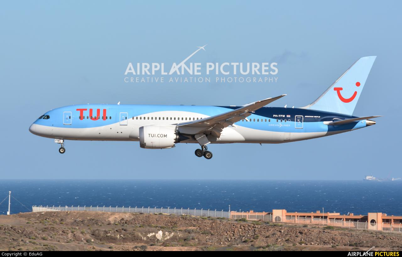 TUI Airlines Netherlands PH-TFM aircraft at Aeropuerto de Gran Canaria