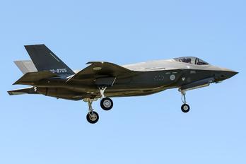 79-8705 - Japan - Air Self Defence Force Lockheed Martin F-35A Lightning II