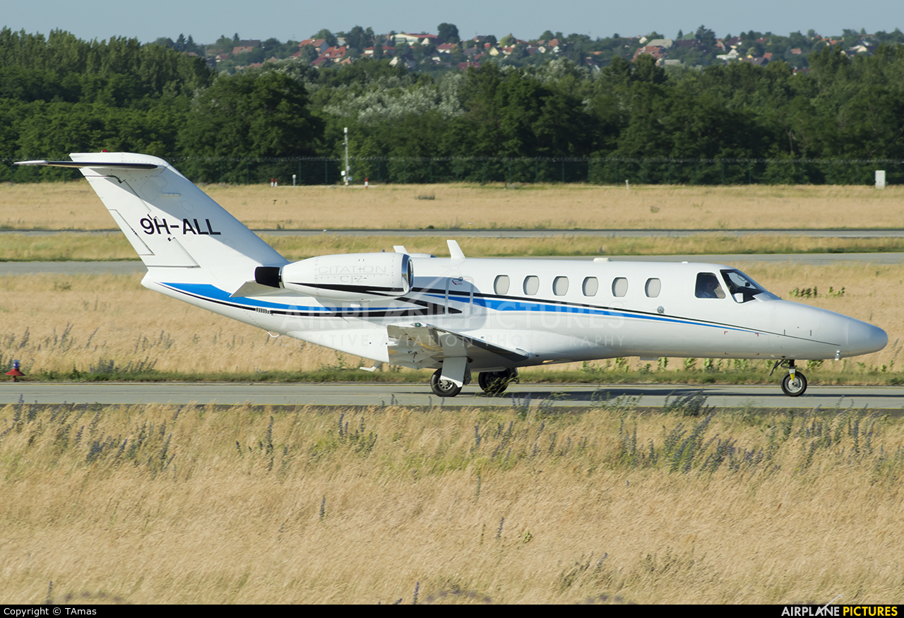 Lux Wing Group 9H-ALL aircraft at Budapest Ferenc Liszt International Airport