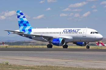5B-DCU - Cobalt Airbus A319