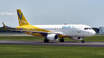 JA09VA - Vanilla Air Airbus A320